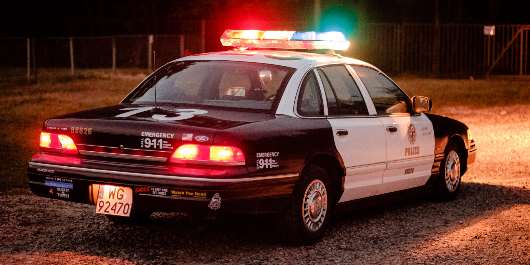 Ford Crown Victoria Police Interceptor